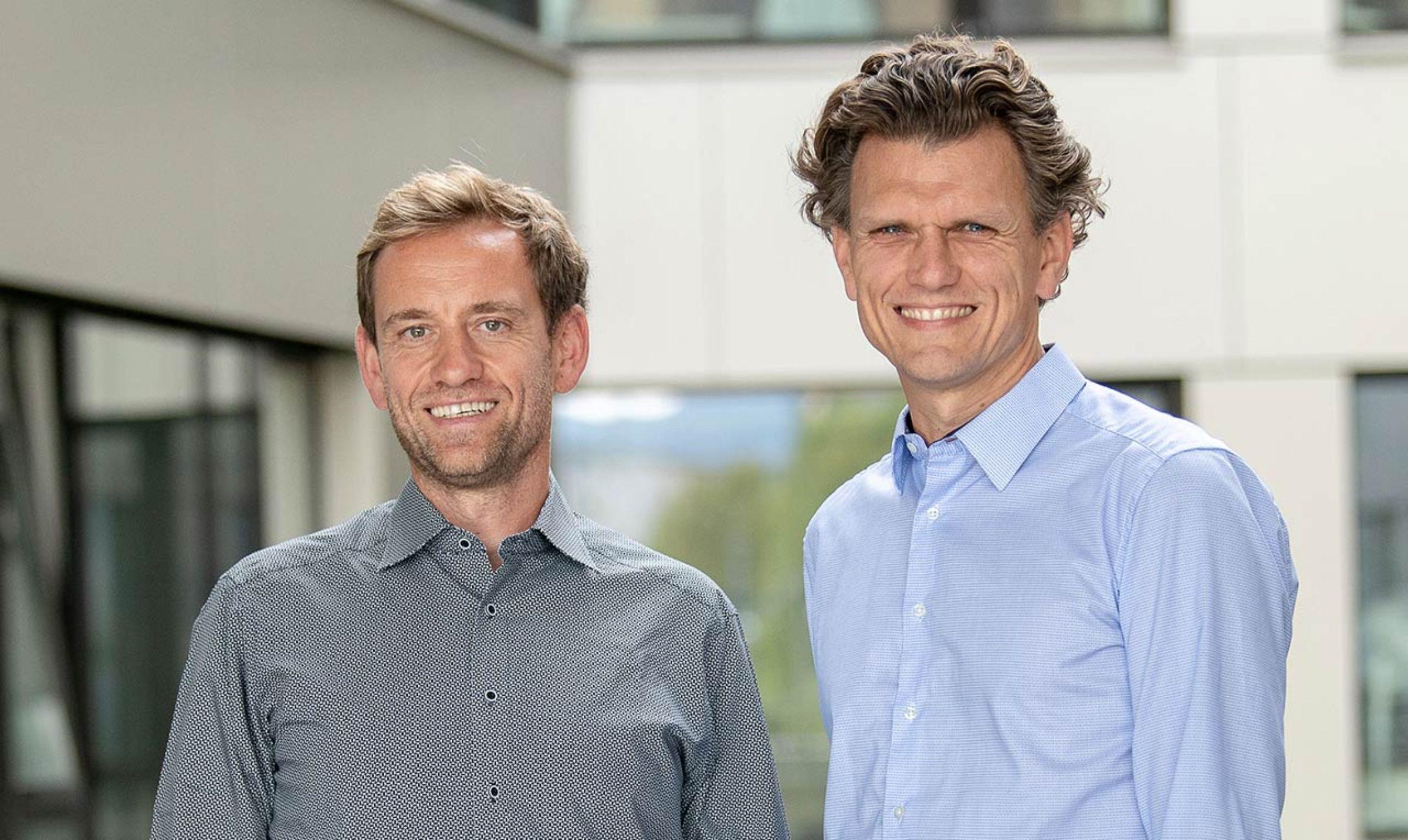 JobRad Geschäftsführung Ulrich Prediger und Holger Tumat