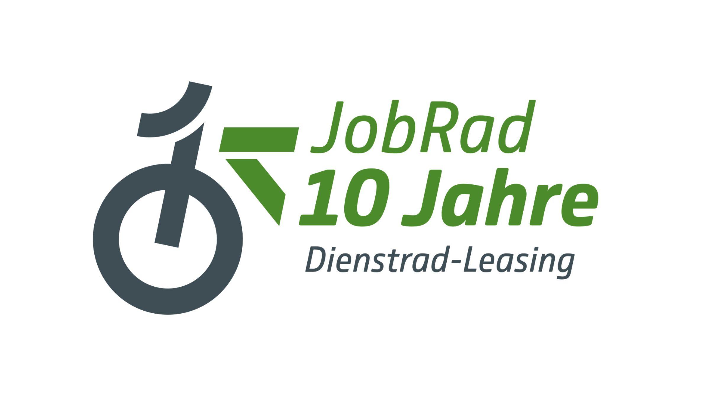 JobRad-Logo 10 Jahre Dienstrad-Leasing