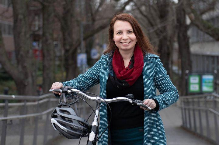 Fahrradheldin Angela Francke | JobRad
