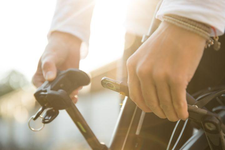 JobRadler schließt Fahrradschloss