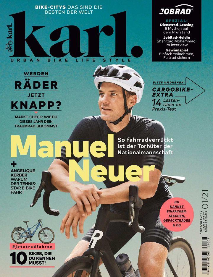 Fahrradmagazin KARL mit JobRad-Spezial!