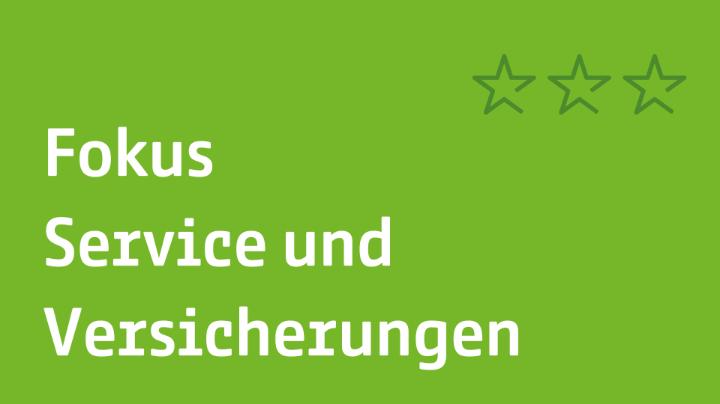 Fokus Service und Versicherungen   JobRad