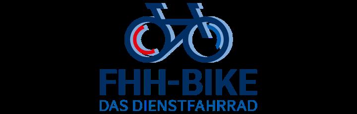Logo JobRad-Arbeitgeber FHH-Bike - Das Dienstrad-Angebot der Freien und Hansestadt Hamburg