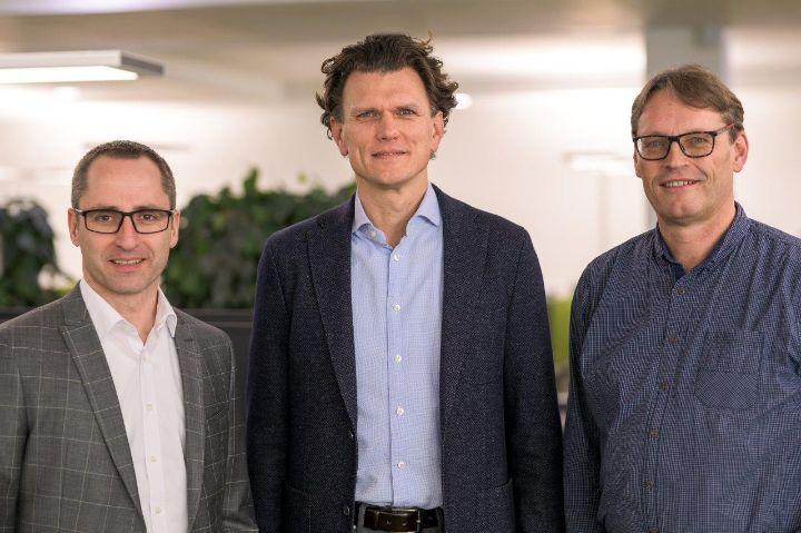 Start JobRad Leasing | Matthias Schneider, Holger Tumat und Roland Potthast