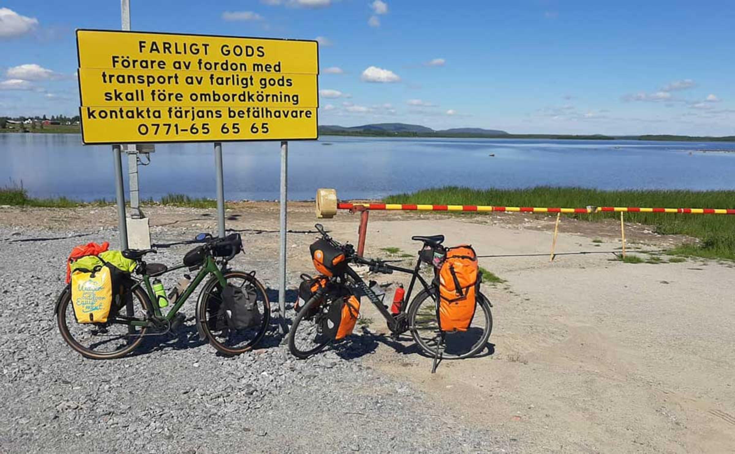 Mit dem JobRad in 8 Wochen und 3.900 km durch Schweden und Deutschland