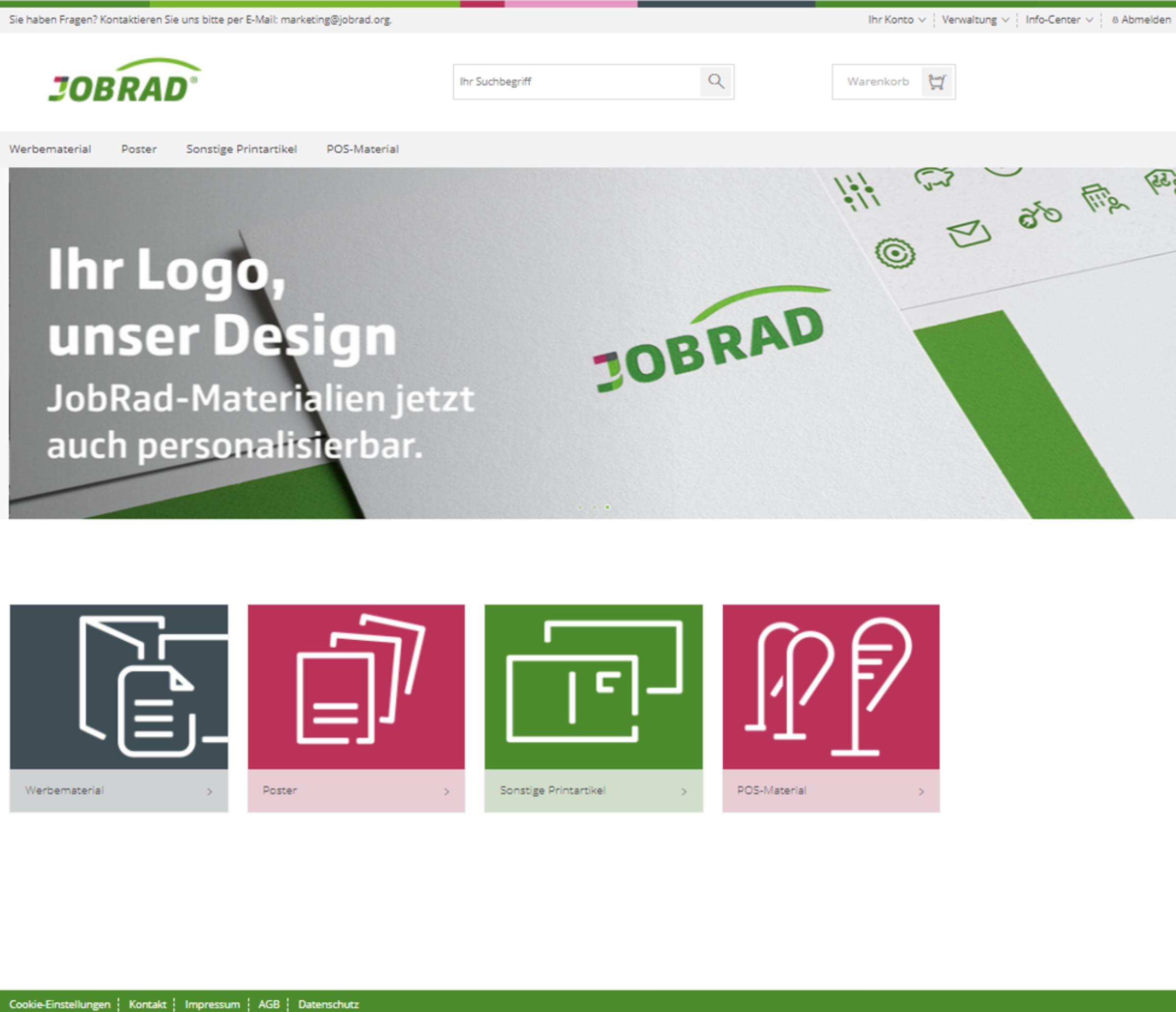 Webshop   JobRad